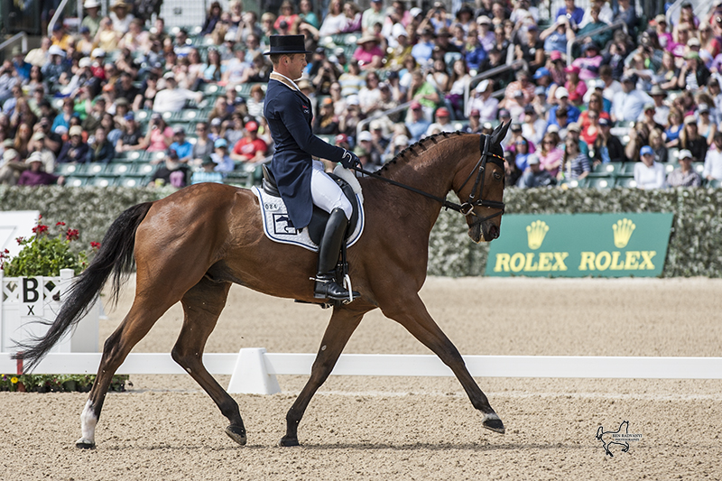 84, LA BIOSTHETIQUE-SAM FBW / Michael Jung (GER) are tied for the lead after Friday's Dressage