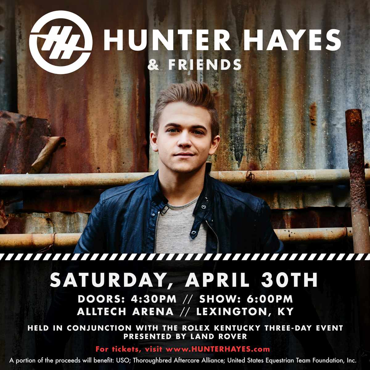 Hunter Hayes is coming to RK3DE! - Kentucky Three Day ...